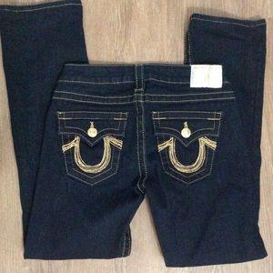 True Religion boot cut jeans, size 28 & 27